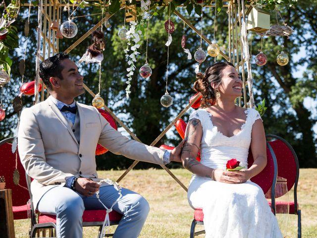 Le mariage de Jimmy et Estelle à Lusignan, Vienne 45