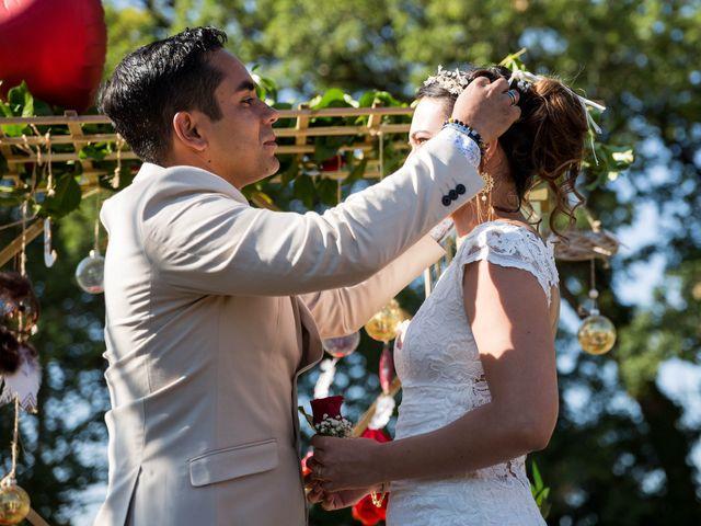 Le mariage de Jimmy et Estelle à Lusignan, Vienne 46