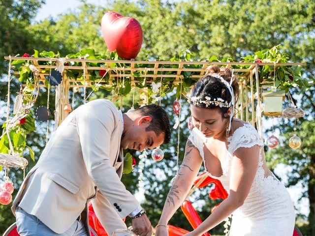 Le mariage de Jimmy et Estelle à Lusignan, Vienne 53