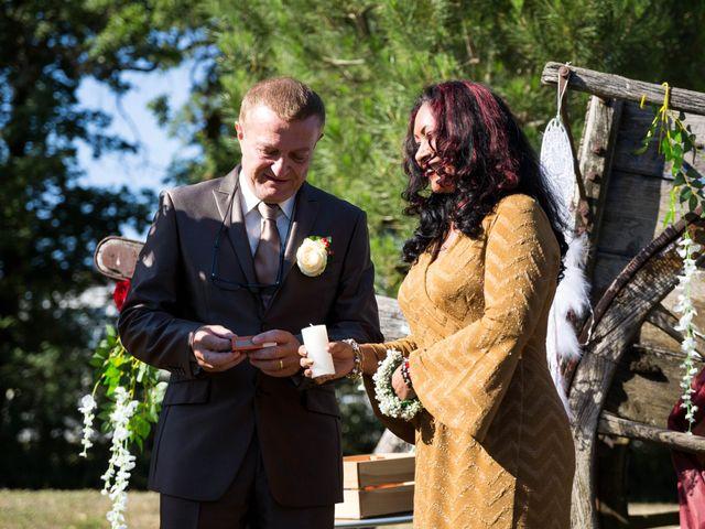 Le mariage de Jimmy et Estelle à Lusignan, Vienne 54