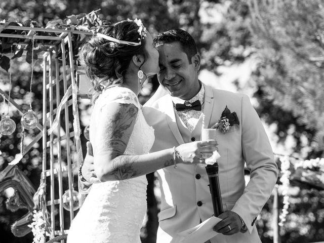 Le mariage de Jimmy et Estelle à Lusignan, Vienne 63