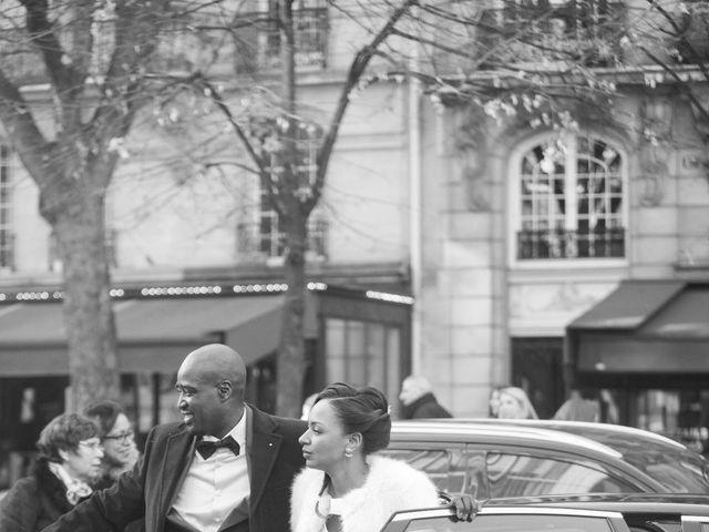 Le mariage de Georges et Elsa à Paris, Paris 15