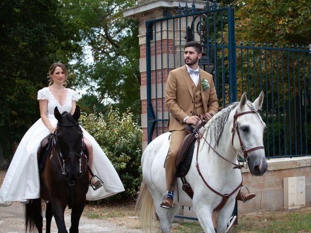 Le mariage de Andy et Mélanie à Milly-la-Forêt, Essonne 1