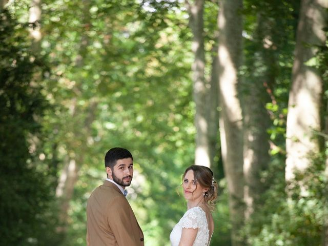 Le mariage de Andy et Mélanie à Milly-la-Forêt, Essonne 5