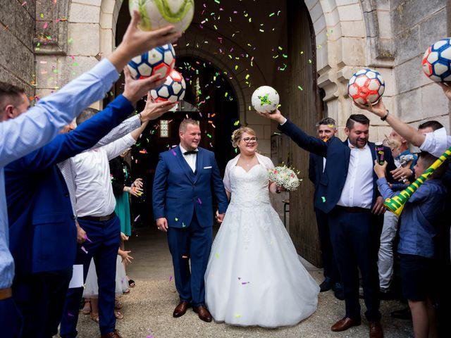 Le mariage de Quentin et Clarisse à Vouillé, Deux-Sèvres 90