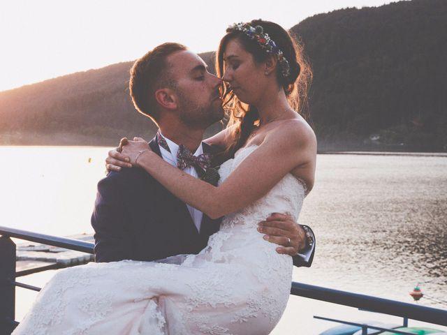 Le mariage de Tristan et Amélie à Gérardmer, Vosges 1