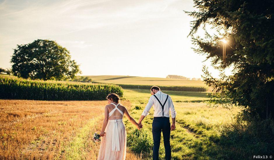 Le mariage de Sylvain et Amandine à Hoffen, Bas Rhin