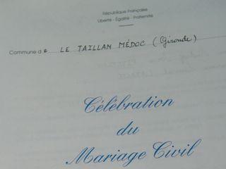 Le mariage de Audrey et Laurent 1