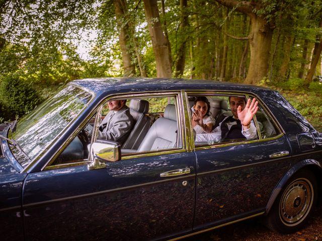 Le mariage de Célia et Vladimir à Saussay, Seine-Maritime 1