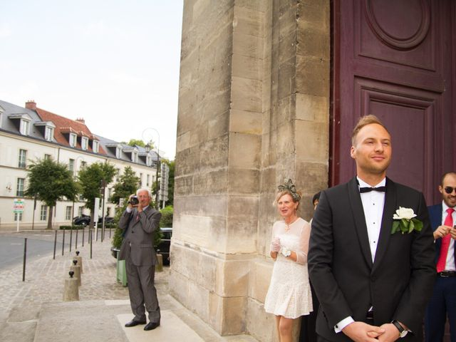 Le mariage de Emmanuel et Samareh à Paris, Paris 16