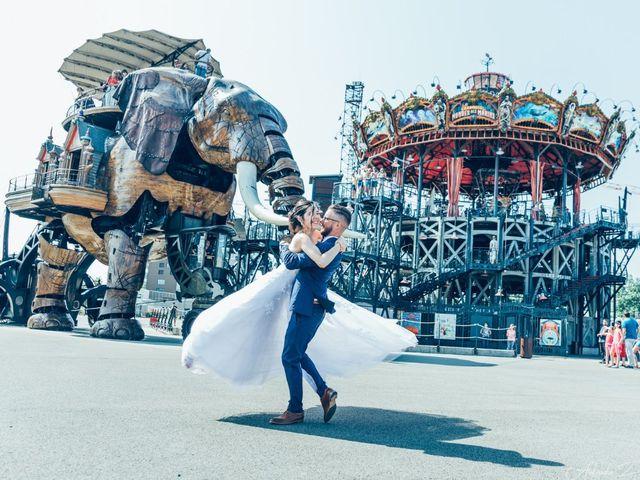 Le mariage de Nicolas et Elodie à Nantes, Loire Atlantique 2