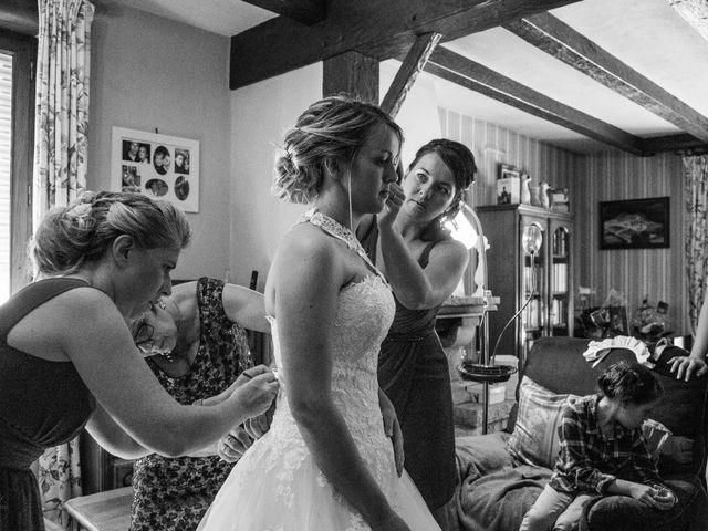 Le mariage de Cédric et Anne-Claire à Le Foeil, Côtes d'Armor 12