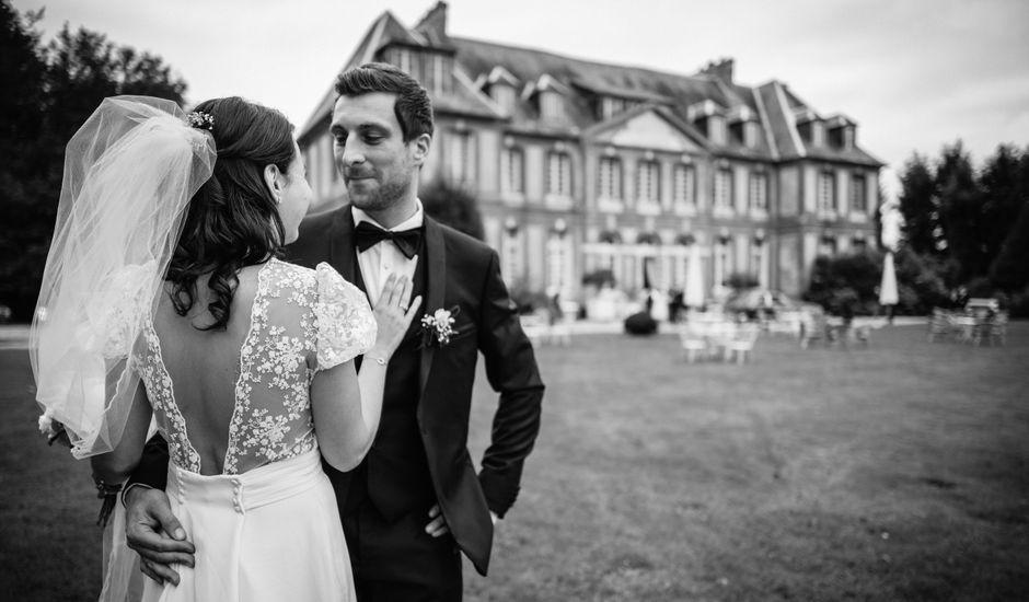Le mariage de Célia et Vladimir à Saussay, Seine-Maritime