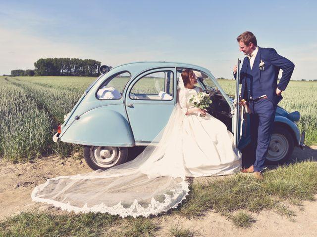 Le mariage de Cyprien et Mathilde à Thumeries, Nord 1