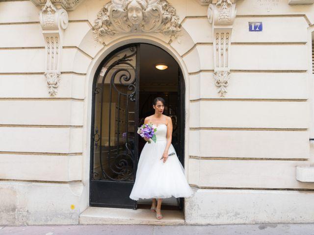 Le mariage de Fabrice et Aicha à Paris, Paris 7