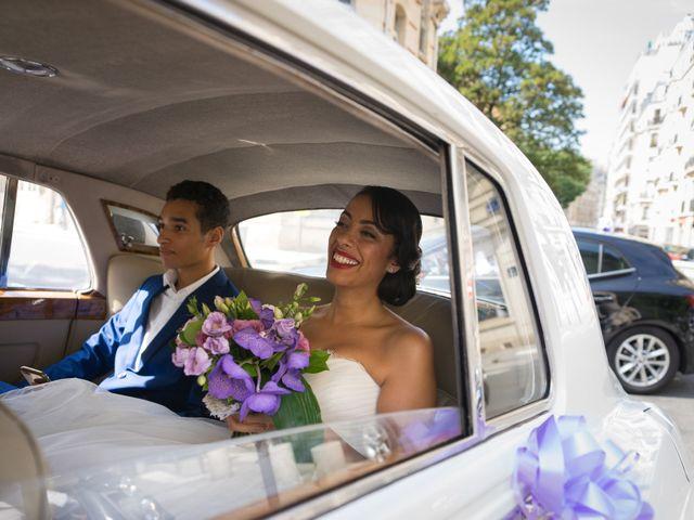 Le mariage de Fabrice et Aicha à Paris, Paris 8