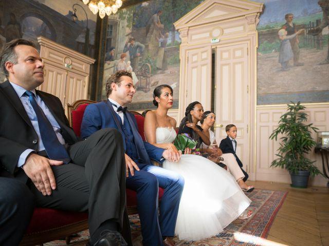 Le mariage de Fabrice et Aicha à Paris, Paris 9