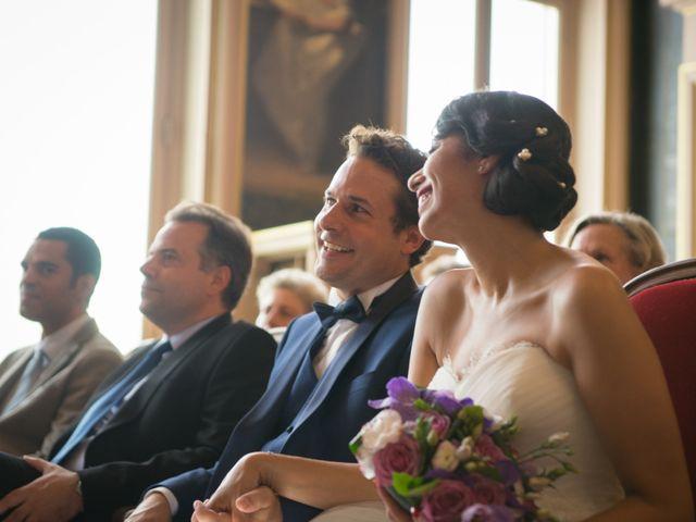 Le mariage de Fabrice et Aicha à Paris, Paris 10