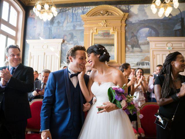 Le mariage de Fabrice et Aicha à Paris, Paris 12