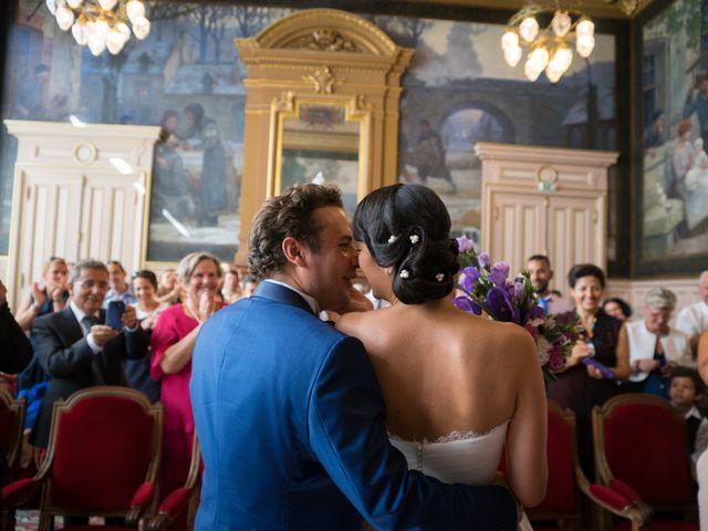 Le mariage de Fabrice et Aicha à Paris, Paris 13