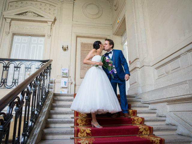 Le mariage de Fabrice et Aicha à Paris, Paris 14