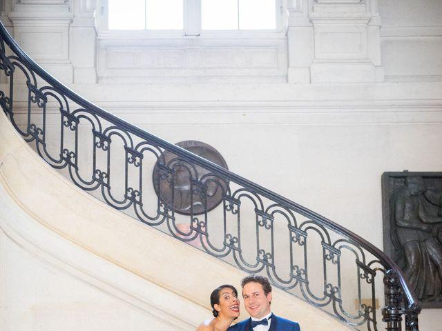 Le mariage de Fabrice et Aicha à Paris, Paris 15
