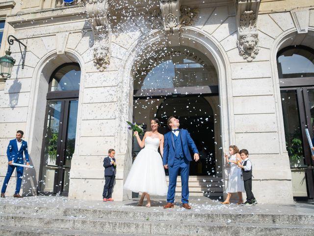 Le mariage de Fabrice et Aicha à Paris, Paris 16