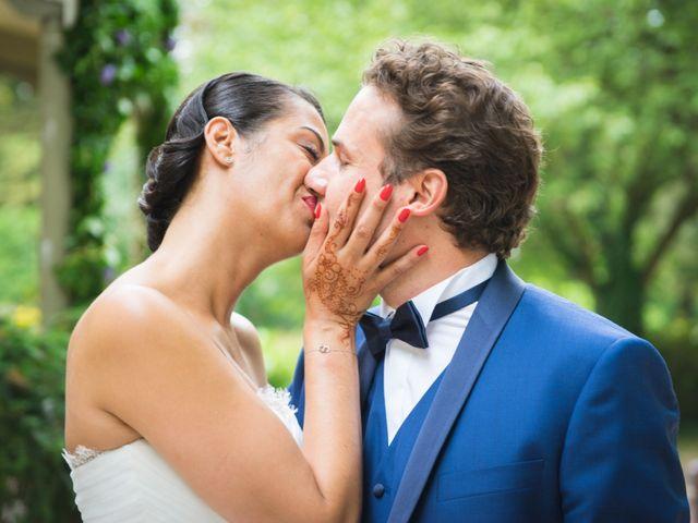 Le mariage de Fabrice et Aicha à Paris, Paris 35