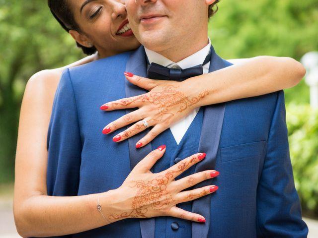 Le mariage de Fabrice et Aicha à Paris, Paris 37