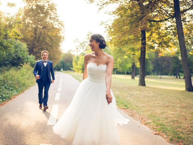 Le mariage de Aicha et Fabrice