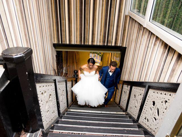 Le mariage de Fabrice et Aicha à Paris, Paris 49