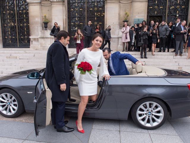 Le mariage de Dan et Pauline à Paris, Paris 9