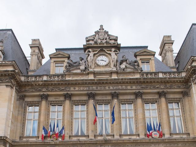 Le mariage de Dan et Pauline à Paris, Paris 21