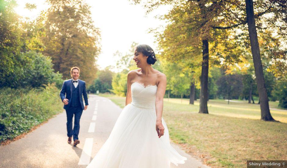 Le mariage de Fabrice et Aicha à Paris, Paris