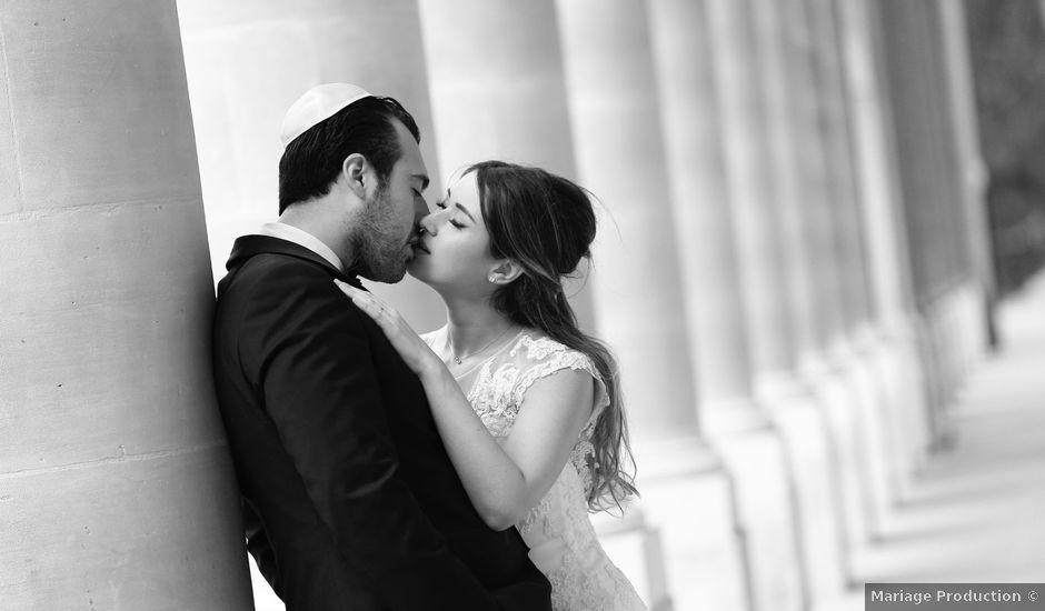 Le mariage de Dan et Pauline à Paris, Paris
