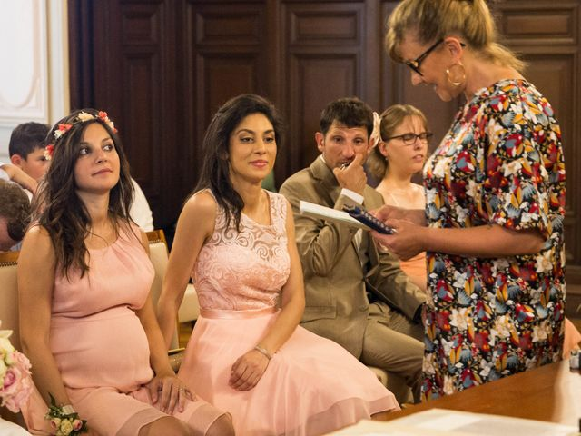 Le mariage de J-C et Christine à Poitiers, Vienne 8