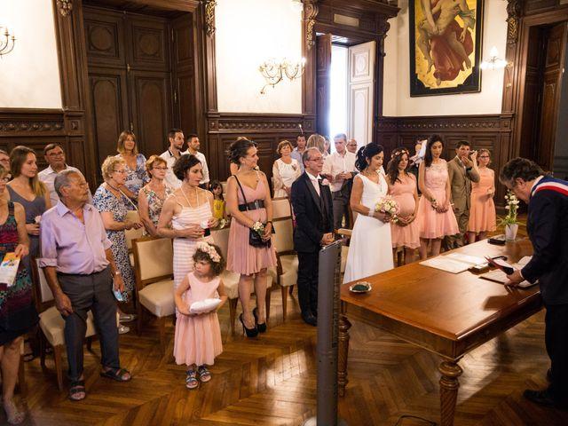 Le mariage de J-C et Christine à Poitiers, Vienne 12