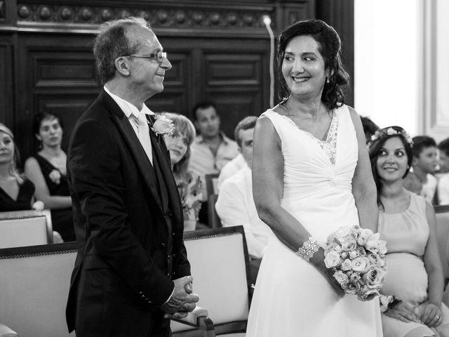 Le mariage de J-C et Christine à Poitiers, Vienne 16