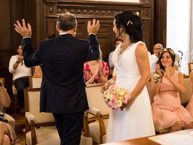 Le mariage de J-C et Christine à Poitiers, Vienne 20