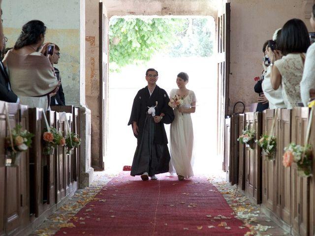 Le mariage de Louis et Hanako à Sorel-Moussel, Eure-et-Loir 10