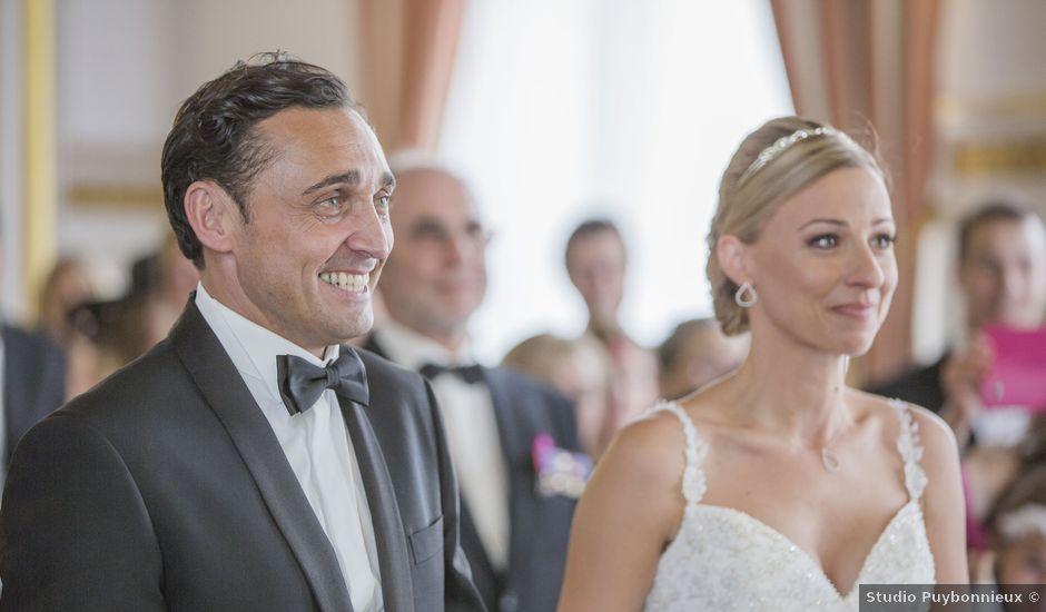 Le mariage de Fabrice et Caroline à Limoges, Haute-Vienne