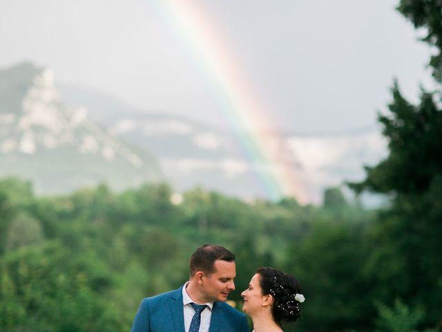 Le mariage de Thomas et Emeline à Saint-Thomas-en-Royans, Drôme 15