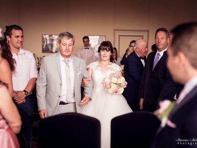 Le mariage de Léo et Amandine à Hénouville, Seine-Maritime 91