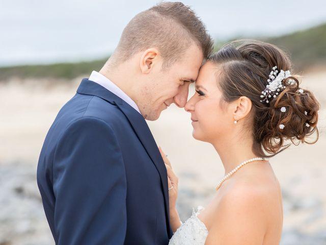 Le mariage de Loïc et Alexiane à Bourriot-Bergonce, Landes 66
