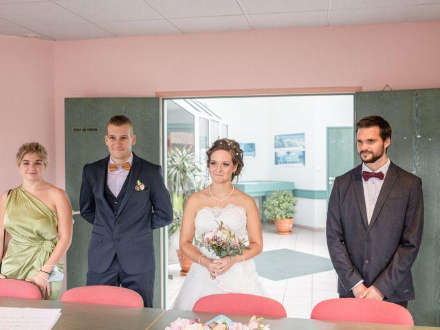 Le mariage de Loïc et Alexiane à Bourriot-Bergonce, Landes 23