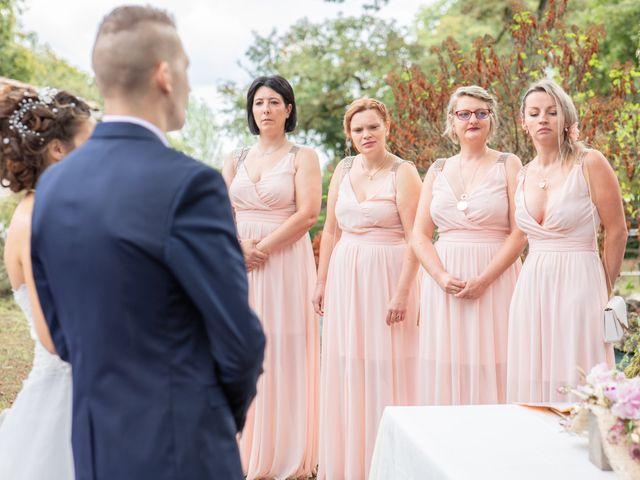 Le mariage de Loïc et Alexiane à Bourriot-Bergonce, Landes 33