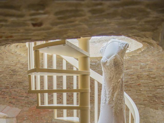 Le mariage de Alex et Gretchen à Biras, Dordogne 1