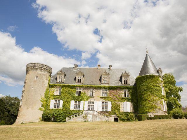 Le mariage de Alex et Gretchen à Biras, Dordogne 14