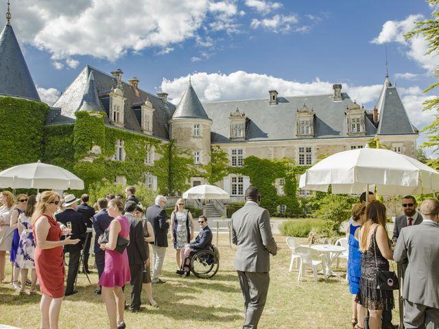 Le mariage de Alex et Gretchen à Biras, Dordogne 33