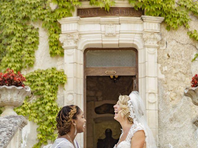 Le mariage de Alex et Gretchen à Biras, Dordogne 44